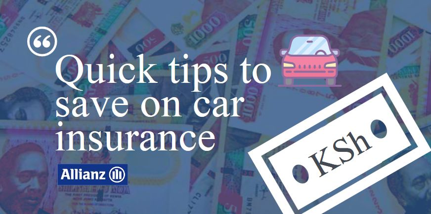 tips to save on car insurance in kenya